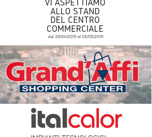 Italcalor al centro commerciale Iper'Affi